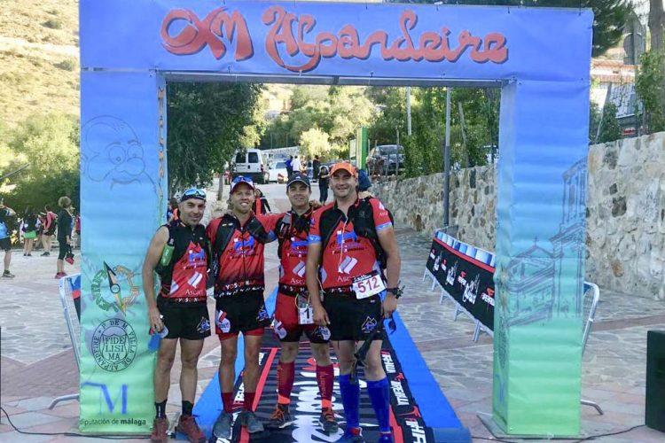 Los corredores del Club Harman Trail Running han participado en las pruebas de Alpandeire, Cazorla y Cartagena