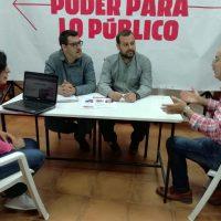 """Álvaro Carreño (IU) envía un mensaje: """"si alguien quiere pactar con nosotros debe mantener las restricciones en el Puente Nuevo"""""""