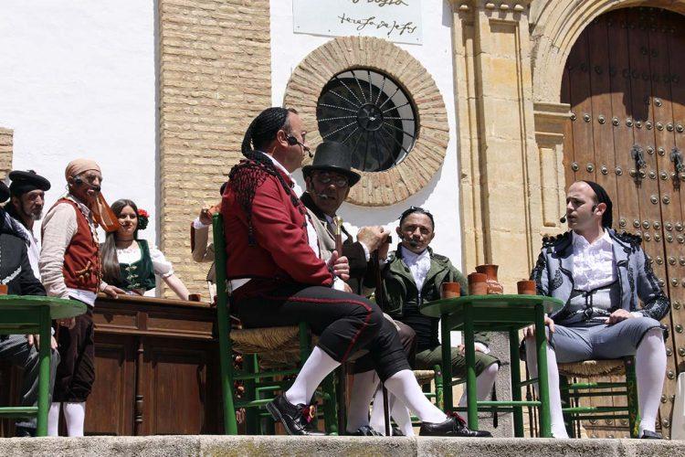 Segunda jornada de Ronda Romántica marcada por las recreaciones históricas y las visitas a las estancias de época