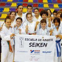 El equipo de la Escuela de Kárate Seikén logra siete medallas en el Trofeo Promesas de Antequera