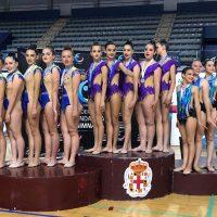 Las gimnastas del Cub AGRA logran una medalla de plata en la modalidad de aros en el Campeonato Andaluz de Promesas celebrado en Almería