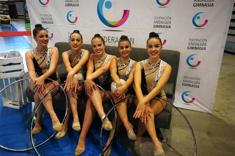 Las gimnastas del Club AGRA cerraron la temporada de competiciones en la final autonómica de Jerez de la Frontera