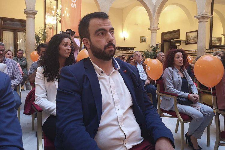 El único concejal de Ciudadanos no participará en el nuevo Gobierno de Ronda aunque dará su apoyo para que Maripaz Fernández sea alcaldesa