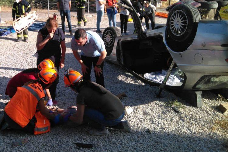 Profesionales de Atención Primaria perfeccionan sus conocimientos en el manejo prehospitalario de traumatismos graves