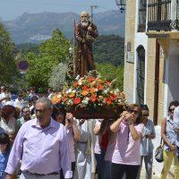 Cientos de personas acompañaron a Fray Leopoldo de Alpandeire en el 155 aniversario de su nacimiento