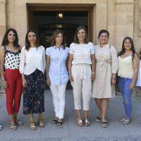 Primer encuentro entre la Concejalía de Fiestas y las jóvenes que serán Goyescas en la Feria de Pedro Romero de 2019