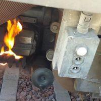 """Alcaldes del Campo de Gibraltar y de la Serranía muestran su indignación después de que un tren """"rana"""" sufriese un incendio en la estación de Gaucín"""