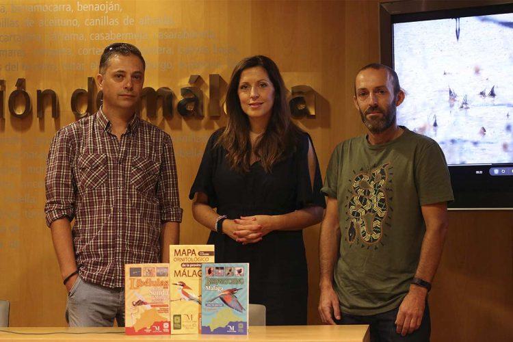 La Diputación muestra en un audiovisual el potencial ornitológico del arroyo de la Ventilla, en parajes de Ronda y Arriate