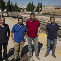 Podemos y CGT denuncian la lamentable situación de la línea Algeciras-Ronda-Bobadilla que cuenta con trenes obsoletos que se averían constantemente