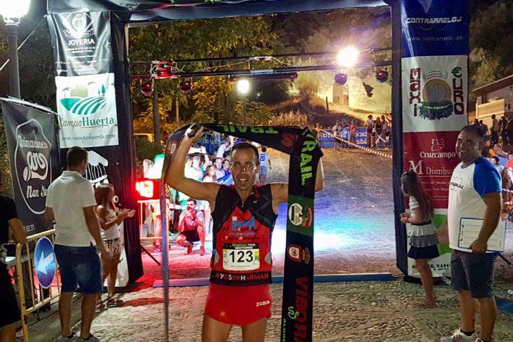 Raúl Guerrero gana el I Víboras Trail Nocturno de Algodonales