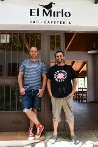 Samuel y Diego, impulsores del proyecto.