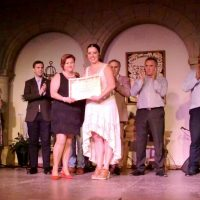 Fabiola Barba, segundo premio en baile.