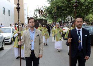 Los concejales Ignacio Alonso y José Carlos Tirado han participado en representación de la Corporación local.