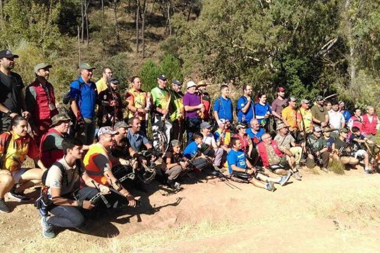 El Campeonato de Andalucía de Caza Simulada con Arco reúne a 33 tiradores en el Puente de la Ventilla