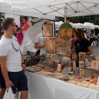 Artesanos de toda Andalucía exponen sus productos en la muestra 'We Love Ronda Market'