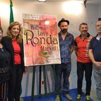 Presentan la primera feria de artesanía 'We Love Ronda Market'