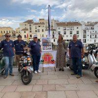 Presentan la V Reunión Motera de Vespas que se celebrará en Ronda