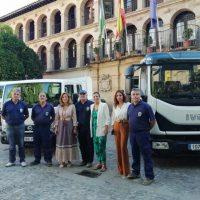 El Ayuntamiento adquiere tres nuevos vehículos para sus servicios operativos