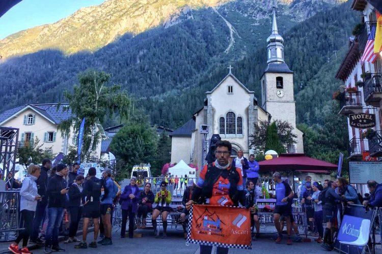 Miguel Ángel Orellana representa al Club Ascari-Harman en la mítica CCC del Mont Blanc