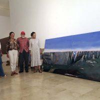 El pintor Jesús González de la Torre dona a Ronda 38 cuadros que se expondrán de forma permanente en Santo Domingo
