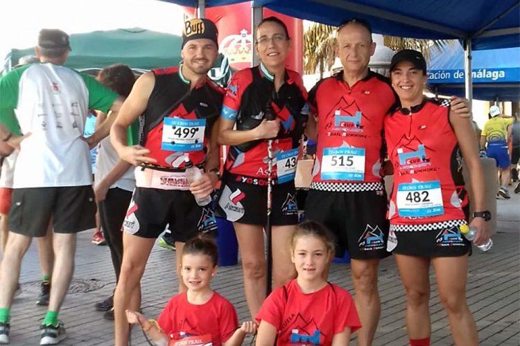 Los corredores del Club Harman Trail lograron traerse numerosas medallas de las pruebas de Cañete la Real, Marbella y Cortes de la Frontera