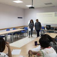 El Área Sanitaria y AYUCA imparten un taller de apoyo para pacientes de cáncer de mama