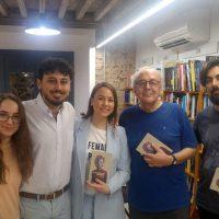 La escritora rondeña Flora Jordán presenta en Málaga su primera selección de poemas