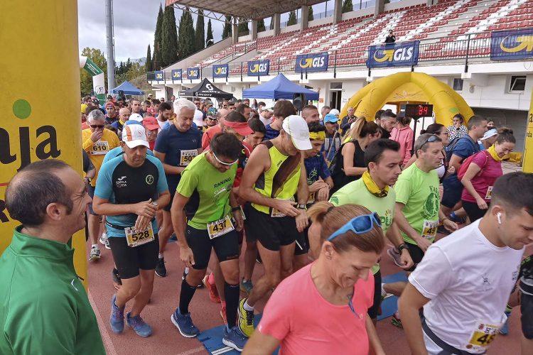 Cerca de 700 deportistas participan en la VIII edición de la carrera Homenaje a la Guardia Civil (HAGUA)