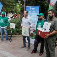 Una campaña busca concienciar sobre la importancia de reciclar los aparatos electrónicos