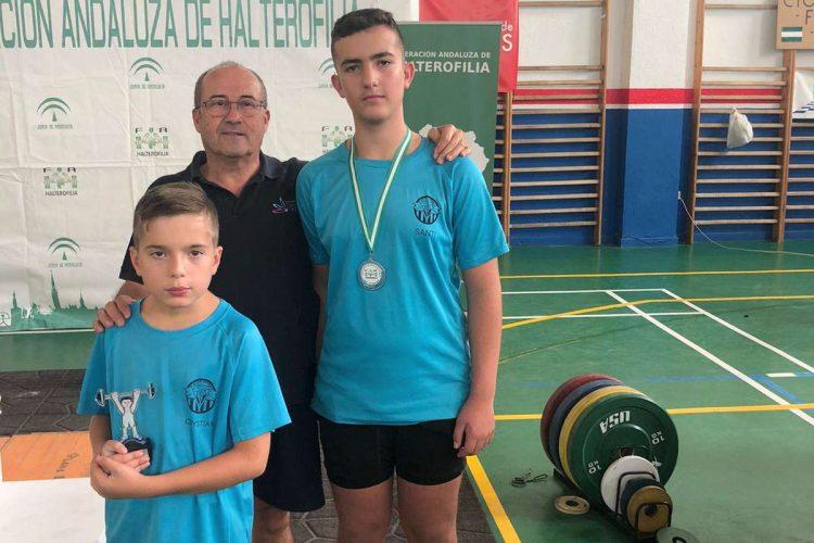 El rondeño Santi Melgar logra la plata en el Campeonato de Andalucía sub-15 de Halterofilia