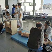 El Área Sanitaria Serranía informa a los ciudadanos sobre cómo actuar ante una parada cardiorrespiratoria