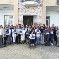 El PSOE entrega su premio Mujer Rural a siete mujeres relacionadas con el sector cárnico en la Serranía de Ronda
