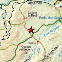 Un terremoto se deja sentir en Cañete la Real y Serrato