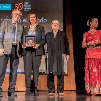 La Fundación Vicente Ferrer premia la colaboración del Ayuntamiento de Ronda