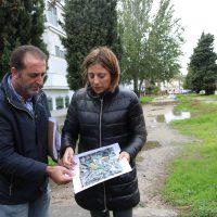 Ayuntamiento y Adif negocian crear una zona de aparcamientos en el 'Campo del Nene'