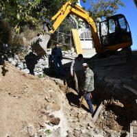 Cartajima inicia los trabajos para la eliminación del cableado en la calle Bandolero Andrés García