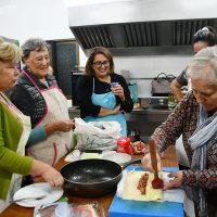 Jubrique comienza la VI edición de su Taller de Cocina con Castañas