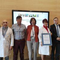 La Unidad de Formación del Área Sanitaria Serranía recibe el sello de calidad de la Consejería de Salud