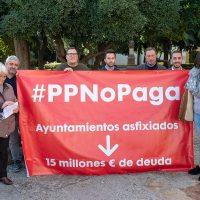 El PSOE se moviliza para exigir a la Diputación el pago de la deuda con los ayuntamientos