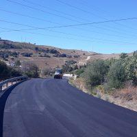 La Diputación finaliza las obras de reparación de daños por temporales en tres carreteras de la Serranía
