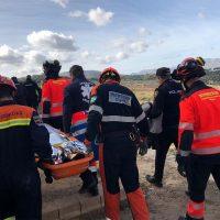 Localizan con vida a un turista australiano que ha pasado toda la noche en el fondo del Tajo tras sufrir un accidente