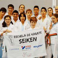 Los alumnos de la Escuela de Kárate Seiken se traen siete medallas del Trofeo Promesas de Río Gordo