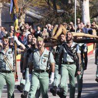 La Legión celebra el día de la Patrona de Infantería, la Virgen de la Inmaculada, con una parada militar