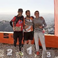 Leo Pavón, del Club Harman Trail, queda segundo en senior masculino en la San Silvestre Montañera de Granada