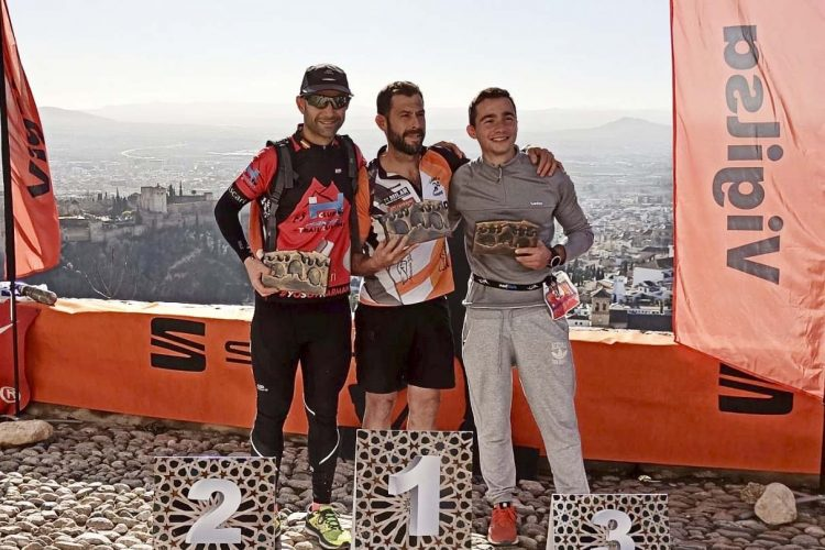 Leo Pavón, del Club Harman Trail, queda segundo en senior masculino en la San Silvestre Montañera de Granada