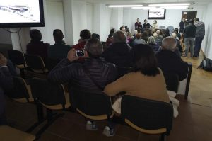 Más de medio centenar de personas han asistido a la presentación del proyecto.