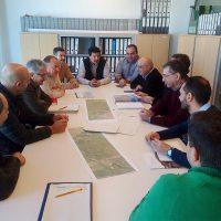 La Diputación presenta al Ayuntamiento los avances que ya tiene para el vial alternativo al Puente Nuevo