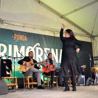 Las dos primeras zambombas flamencas de 'La Marimorena' concentran a centenares de personas en el inicio de las Navidades