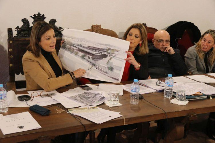 El Ayuntamiento aprueba un estudio de viabilidad de la nueva estación de autobuses que se prevé en El Fuerte