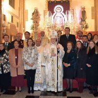 Ronda celebra el día de la Patrona, la Virgen de la Paz, con una solemne misa oficiada por el cardenal Carlos Amigo Vallejo